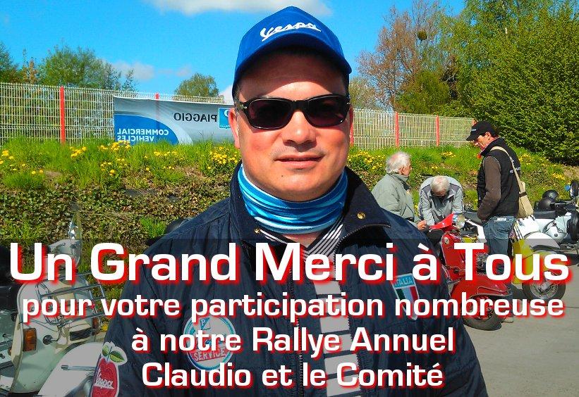 Rallye Club Vespa Fleurus 2018